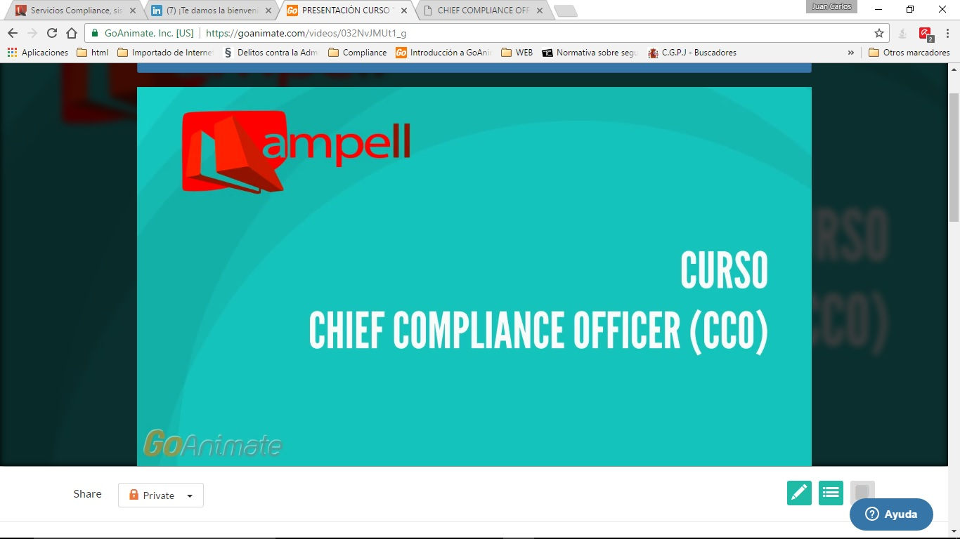 curso compliance officers ampell consultores